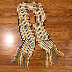 Striped OAKLEY Winter Scarf